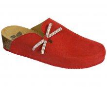 Scholl Dámské pantofle Ambla Bioprint Red F266961051 36