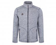 LOAP Pánský sportovní svetr Gareth Poseidon Gray Melange OLM1805-I16X M