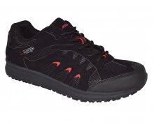LOAP Pánské outdoorové boty Merio black/true red HSM1692-V11G 45