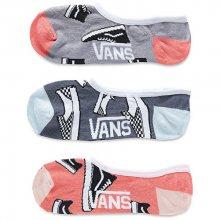 VANS Balení 3ks dámských ponožek So Classic Canoodle Multi VA3INA448