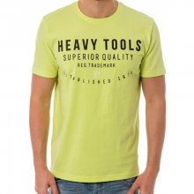 Heavy Tools Pánské triko Means S18-200 Neon M