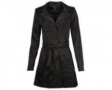 Vero Moda Dámský kabát Dollars 3/4 Trenchoat Black XS