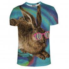 Tričko Crazy Rabbit barevné M
