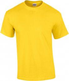 Tričko Gildan Ultra - Žlutá S