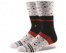 Stance Pánské ponožky NERO M556C17NER-WHT 38-42
