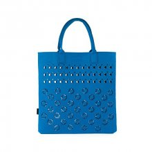 Art of Polo Dámská filcová taška Shopping Bag - royal blue tr15113.4