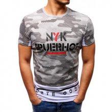 Pánské tričko ORIGINAL s potiskem šedé