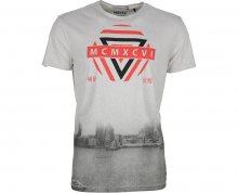 Noize Pánské triko s krátkým rukávem Cement 4436100-00 M