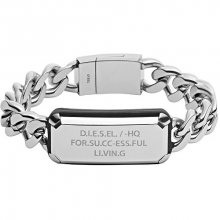 Diesel Masívní ocelový náramek DX1017040
