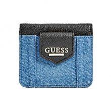 Guess Elegantní peněženka Lexa Wallet Blue