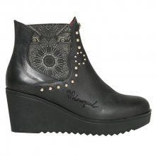 Desigual Dámské kotníkové boty Bonnie Blackstud 17WSALA2 2000 36
