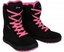 LOAP Dámské zimní boty Rosaria Black/Magenta SBL1754-V11J 36