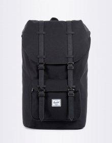 Herschel Supply Little America Black/Black Synthetic Leather 25l