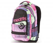Meatfly Exile 22l Aftermath Pink