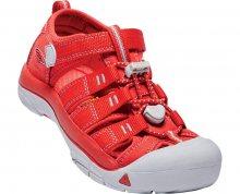KEEN Dětské sandály Newport H2 Rainbow Pack Firey Red JUNIOR 32-33