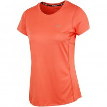 Nike Miler Short Sleeve oranžová S
