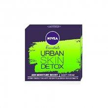 Nivea Detoxikační noční krém Urban Skin Detox Essentials (Night Cream) 50 ml