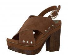 Tamaris Elegantní dámské sandále 1-1-28389-38 Cognac 39