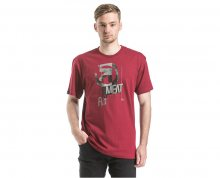 Meatfly Triko Fragment T-shirt D - Dark Red S