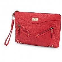 Volcom Dámská kabelka Indulge Clutch Red E6531511-RED
