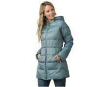 Prana Dámská bunda Imogen Long Jacket Bayou Blue XS