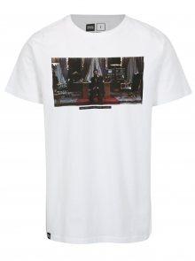 Bílé tričko s potiskem Dedicated Scarface Little Friend