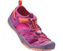 KEEN Dětské sandály Moxie Sandal Purple Wine/Nasturtium JUNIOR 35