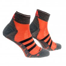 adidas Run Thin-Cushioned Id Ankle Socks šedá 31-33