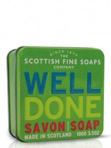 Scottish Fine Soaps Mýdlo v plechové krabičce A01175, 100 g\n\n