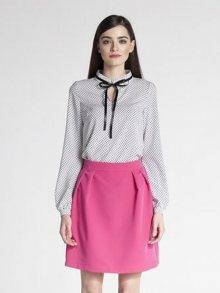 AMBIGANTE Dámská sukně ASP0024_amaranth
