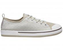 KEEN Dámské obuv Elsa II Sneaker Crochet Silver Birch/Canteen 38
