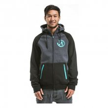 Meatfly Mikina Twitch 2 Technical Hoodie A - Black/Charcoal Heather M