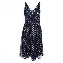 Vero Moda Dámské šaty Josephine Sl Above Knee Dress Noos Black Iris XS