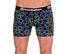 Horsefeathers Pánské bavlněné boxerky Sidney Condoms AA901O S