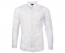 Jack&Jones Pánská košile Jorstroke Shirt Ls Cloud Dancer S