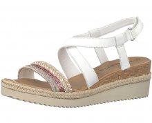Tamaris Dámské sandále 1-1-28358-20-197 White Comb 36
