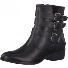 Tamaris Elegantní dámské kotníkové boty 1-1-25952-39-001 Black 37