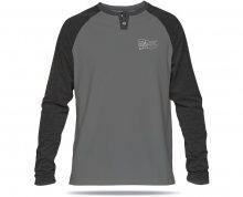 Dakine Pánské tričko Pennant L/S Henley Asphalt 10000882-W17 XL