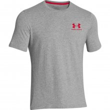 Under Armour CC Left Chest Lockup šedá L