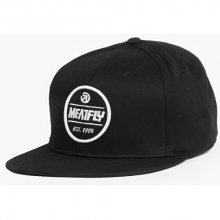 Meatfly Kšiltovka Troop Snapback B - Black