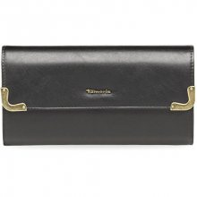 Tamaris Elegantní peněženka Calista Big Wallet with Flap 7914172-001 Black