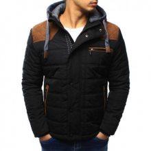 Pánská bunda zimní černá