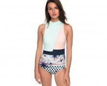 Roxy Jednodílné plavky Pop Surf Fashion One Piece Blue Light Rain Daze Small ERJX103115-BEK7 XS