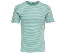 ONLY&SONS Pánské tričko Albert Stripe SS Slim tee Noos Aquifer S