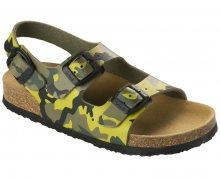 Scholl Dětské sandále Air Bag B/S Kid Bioprint Multi Green F265741221 27