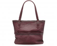 Tamaris Slušivá kabelka Hayden Shopping Bag 2369172-630 Vino