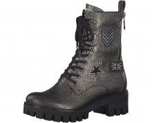 Tamaris Elegantní dámské kotníkové boty 1-1-25755-39-915 Pewter 36
