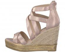 s.Oliver Dámské sandále Rose Metallic 5-5-28311-20-519 36