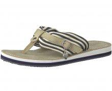 Tamaris Dámské pantofle 1-1-27109-20-865 Navy Stripes 36