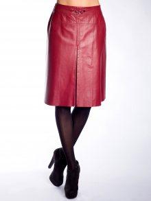 John&Yoko Dámská kožená sukně ILINKA